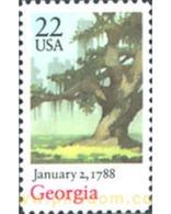Ref. 244064 * MNH * - UNITED STATES. 1988. BICENTENARY OF GEORGIA . BICENTENARIO DEL ESTADO DE GEORGIA - United States