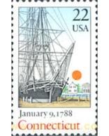 Ref. 244065 * MNH * - UNITED STATES. 1988. BICENTENARY OF CONNECTICUT  . BICENTENARIO DEL ESTADO DE CONNECTICUT - United States
