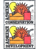 Ref. 244817 * MNH * - UNITED STATES. 1977. PRESERVACION Y DESEMVOLUPAMIENTO DE ENERGIAS - Unused Stamps