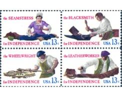 Ref. 244857 * MNH * - UNITED STATES. 1977. OFICIOS DE LA GUERRA DE LA INDEPENDENCIA - Unused Stamps
