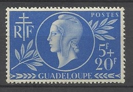 Guadeloupe  Poste N° 175   Neuf *   B/TB    ..........soldé à Moins De 20 %  ! ! ! - Unused Stamps