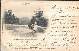 Le Petit Donon Vu Du Grand Donon  CPA 1902 - Non Classificati
