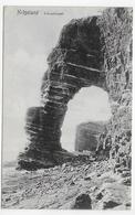 (RECTO / VERSO) HELGOLAND EN 1907 - SCHNEPFENGATT - BEAU CACHET - CPA VOYAGEE - Helgoland