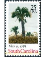 Ref. 249276 * MNH * - UNITED STATES. 1988. SOUTH CAROLINA BICENTENNIAL . BICENTENARIO DEL ESTADO DE CAROLINA DEL SUR - United States