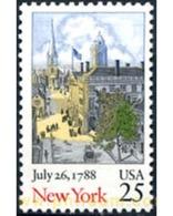 Ref. 249279 * MNH * - UNITED STATES. 1988. NEW YORK BICENTENNIAL . BICENTENARIO DEL ESTADO DE NEW YORK - United States