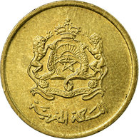 Monnaie, Maroc, Mohammed VI, 10 Santimat, 2002, Paris, TB+, Aluminum-Bronze - Maroc