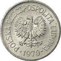 Monnaie, Pologne, 10 Groszy, 1970, Warsaw, TTB, Aluminium, KM:AA47 - Pologne