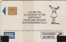 TELECARTE 50...ENFANCE ET PARTAGE...NEUVE SOUS BLISTER - 50 Unités
