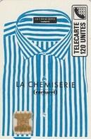 TELECARTE 120.. LA CHEMISERIE CACHAREL... - France