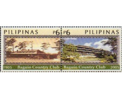 Ref. 368638 * MNH * - PHILIPPINES. 2005. CENTENARY OF BAGUIO COUNTRY CLUB . CENTENARIO DEL  BAGUIO COUNTRY CLUB - Golf