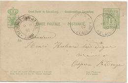 Nr. 47 - Postes Relais No. 8 (Rambruch) Stempel 08-08-1890 Nach Ospern - Machine Stamps (ATM)