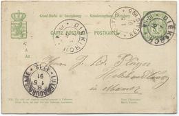Nr. 47 - Postes Relais No. 5 (Mamer) Stempel 01-05-1891 Nach Mamer - Machine Stamps (ATM)