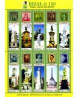Ref. 271358 * MNH * - PHILIPPINES. 2011. 150 ANIVERSARIO DEL NACIMIENTO DE JOSE RIZAL - Philippinen