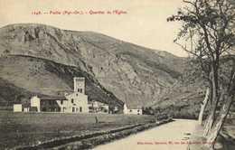 Fuilla (Pyr Or) Quartier De L'Eglise  RV  Librairie Brun Frères Perpignan - France