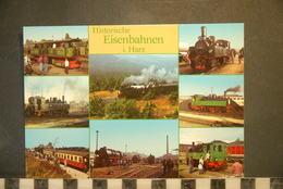CP, TRAINS, CHEMINS DE FER, HISTORISCHE EISENBAHNEN IM HARZ - Eisenbahnen