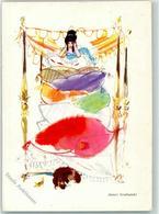 39271275 - Prinzessin Auf Der Erbse Bett Hund Christian Andersen Sign Janusz Grabianski - Fairy Tales, Popular Stories & Legends