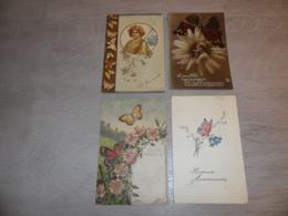 Beau Lot De 18 Cartes Postales De Fantaisie  Papillons Papillon    Mooi Lot Van 18 Postkaarten Van Fantasie  Vlinder - Cartes Postales