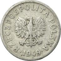 Monnaie, Pologne, 20 Groszy, 1949, TTB, Aluminium, KM:43a - Pologne