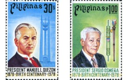 Ref. 313228 * MNH * - PHILIPPINES. 1978. PRESIDENTE SERGIO OSMEÑA - Filippine