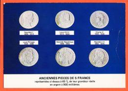 Tb050 Anciennes 6 Pièces De 5 Francs De NAPOLEONI (1804) à NAPOLEON III (1870) PIERRON 9658 - Coins (pictures)