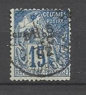 Guadeloupe  Poste   N° 19  Oblitéré   B/TB        ..........soldé à  Moins De 20 %  ! ! - Used Stamps