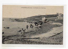 CPA - 29 - LOCQUIREC - Les Rochers Vers L'ile Verte - Pas Courante - Locquirec