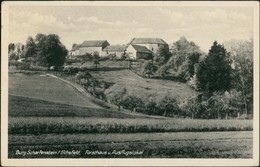 Leinefelde-Worbis Dorf Idyll Burg Scharfenstein Eichsfeld Forsthaus 1952 - Leinefelde