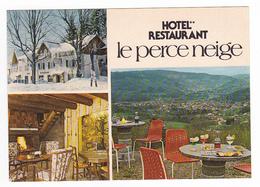 88 Le Thillot Hôtel Restaurant LE PERCE NEIGE Le Haut Du Them Col Des Croix Jeux D'Echecs Orangina Sur Table - Le Thillot