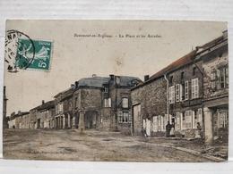 Beaumont-en-Argonne. La Place Et Les Arcades - France