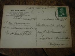 Hotel De La Terrasse Roquebrune Cap Martin Carte - 1900 – 1949