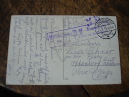 Guerre 14.18 Lettre Cachet Censure Mulhausen Mulhouse Sur Lettre - Postmark Collection (Covers)