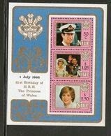 NIUE 1982 CHARLES ET DIANA  YVERT  N°B56 NEUF MNH** - Familles Royales