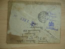 Camp Prisonnier Stendal Lettre Censure Allemande Pour Beaucamps Le Vieux - Postmark Collection (Covers)