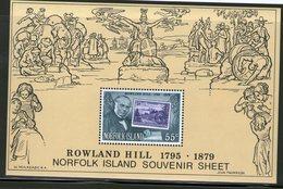 NORFOLK 1979 R.HILL  YVERT  N°B2 NEUF MNH** - Rowland Hill
