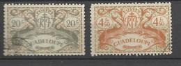 Guadeloupe  Poste   N°  192 Et 196  Oblitérés   B/TB        ..........soldé à  Moins De 20 %  ! ! - Guadeloupe (1884-1947)