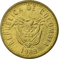 Monnaie, Colombie, 20 Pesos, 1989, TTB, Aluminum-Bronze, KM:282.1 - Colombie