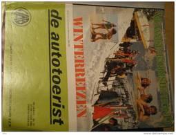 De Autotoerist 33 Jaargang Nr 21 27/10/1980 Brochure 1980-1981 Winterreizen Brussel Jef Burm Aalst Herenthout Stoomtrein - Magazines & Newspapers