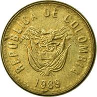 Monnaie, Colombie, 5 Pesos, 1989, TTB, Aluminum-Bronze, KM:280 - Colombie