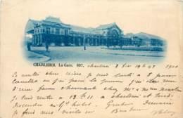 BELGIQUE CHARLEROI LA GARE 807 - Charleroi