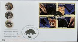 UNO WIEN 2013 Mi-Nr. 793/96 FDC - FDC
