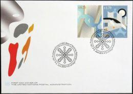UNO WIEN 2014 Mi-Nr. 830/31 FDC - FDC