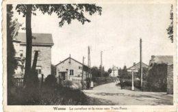 Wanne  Le Carrefour Et La Route Vers Trois-Ponts - Trois-Ponts