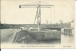 Calais -Ecluse Carrée Sur Le Canal De Guines (1787) - Calais