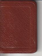 Petit Calendrier Colibri 1953 Tranche Doré TTB - Calendars