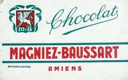 Buvard Ancien - Magniez-Baussart - Amiens - Chocolat - Cocoa & Chocolat