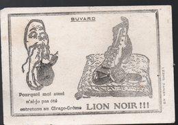 Buvard LION NOIR  (PPP18208) - Wash & Clean