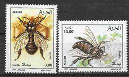 1995 ALGERIE 1081-82** Insectes, Abeilles - Algerije (1962-...)