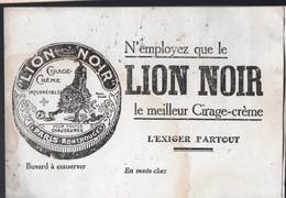 Buvard LION NOIR  (PPP18209) - Wash & Clean