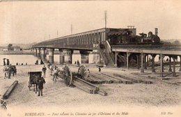 Dept 33,Gironde,Cpa Bordeaux,Pont Reliant Les Chemins De Fer D'Orléans Et Du Midi - Bordeaux
