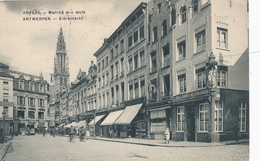 CPA - Belgique - Antwerpen - Anvers - Gare Centrale - Avenue De Keyser - Antwerpen